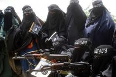 همسر یکی از فرماندهان ارشد داعش دستگیر شد