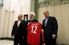 تصاویر مراسم بدرقه تیم ملی ایران برای جام جهانی 2018 روسیه را تماشا کنید