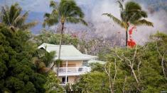 در هاوایی رخ داد : سقوط مواد مذاب از آسمان بر روی مرد آمریکایی!