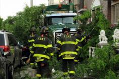ویدیو / راننده مست کامیون در نیویورک فاجعه به بار آورد