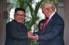ماجرای ویدیویی که ترامپ به رهبر کره شمالی نشان داد چه بود؟
