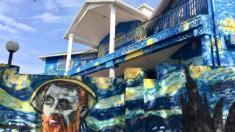 جنجال نقاشی بروی نمای یک خانه در آمریکا، خاتمه یافت