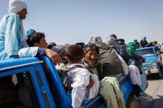 موج کمسابقهی خروج افغانی ها از ایران، به دلیل کاهش ارزش ریال!