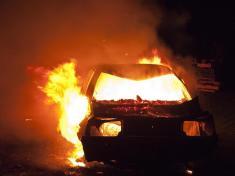 آتش زدن خودروی پدرزن سابق، فاجعه ای هولناک آفرید!