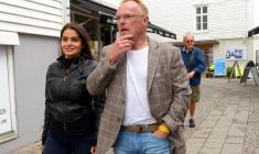 سفر وزیر نروژی با دوست دخترش به ایران جنجالی شد