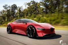 جدیدترین جزئیات از سوپرماشین جدید آلفارومئو منتشر شد