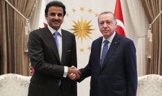 امیر قطر، با 15 میلیارد دلار به کمک اقتصاد ترکیه شتافت